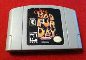 Conker's Bad Fur Day NINTENDO 64 N64 game (extremely rare)
