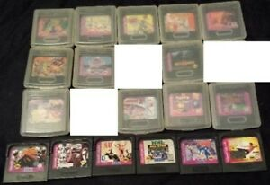 60+ jeux de Game Gear, Sega CD, Saturn, Dreamcast, Master, TG16