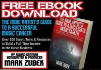 Free Ebook: 100 Steps to a Successful Music Carrer