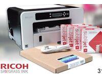 Ricoh SG3110DN Sublimation printer.