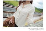 Womens Long Sleeved Chiffon Tops