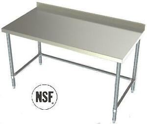 S/S Table & Sink Super Sale - The Entire Month Of July. Tables From $93 - More Savings On Vulcan, Hobart & Traulsen