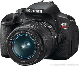 Canon t4i Camera with 18 to 135 mm zoom lens excellent condition