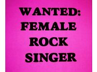 Strong female vocals for new rock project