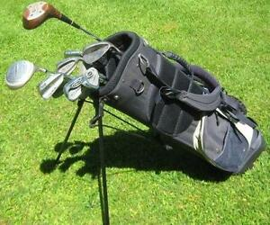 GOLF CLUBS, BAG , CART WHILE THEY LAST FOR $100.00