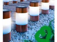 Copper colour Solar lights