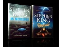STEPHEN KING - REVIVAL & MR. MERCEDES - HARDCOVER - FOR SALE