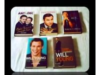 TALENT SHOW BIOGRAPHIES - (5 books) - HARDCOVER - FOR SALE