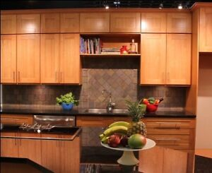 Get 50% off Discount on  honey maple shaker Panel Cabinets