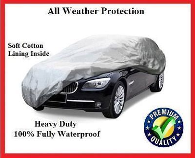 BENTLEY FLYING SPUR ALL YEARS LUXURY FULLY WATERPROOF CAR COVER  COTTON LINED