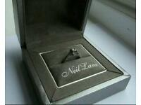 Neil Lane 14ct White Gold 0.58ct Round Cut Diamond Ring