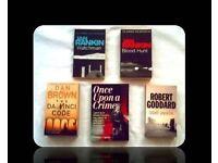 CRIME BOOKS - 5 TITLES - PAPERBACK - FOR SALE