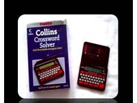 FRANKLIN COLLINS CROSSWORD SOLVER - CWM 109 - FOR SALE