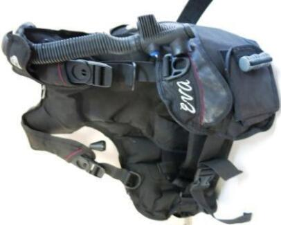 USED SEA-QUEST EVA Weight Integrated Medium BCD Scuba Diving