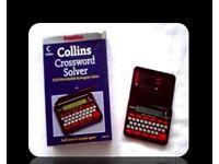 FRANKLIN COLLINS CROSSWORD SOLVER - CWM 109 - FOR SALE