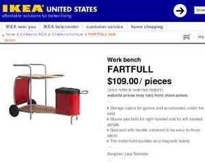 IKEA (Work Bench)Computer Desk/Reclining Chair