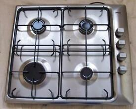 Zanussi Gas Hob 4 hobs 60cm Stainless steel.