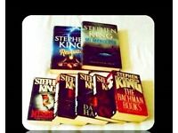 STEPHEN KING BUNDLE - 7 BOOKS - FOR SALE