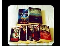 STEPHEN KING BUNDLE - 7 BOOKS - FOR SALE