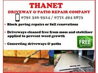 Thanet Driveway/Patio Repairs