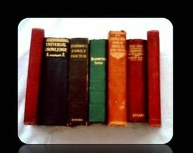 SELECTION OF VINTAGE REFERENCE BOOKS - (7) - HARDCOVER - FOR SALE