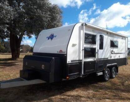 "2014 Sunland SE 20'6"" full offroad caravan, near new"