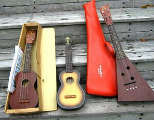 UKULELE'S ,SERENADER,KAWASAKI, NORTHERN ETC