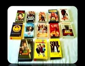 COMEDY VHS TAPES - 13 TITLES - FOR SALE