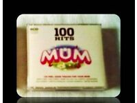 MUSIC CDS - 100 HITS FOR MUM (5 discs) - FOR SALE