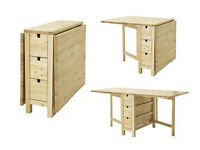 IKEA folding table for sale