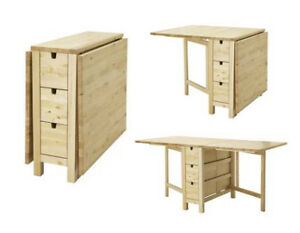 IKEA Norden Birch Crafting Table!