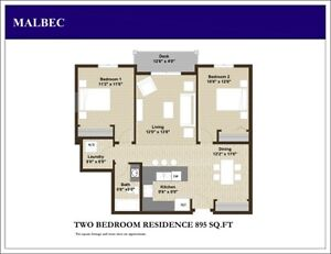 2 BDRM APARTMENT FOR RENT SW EDMONTON - Holiday Price Sale! Edmonton Edmonton Area image 1