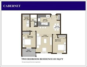 2 BDRM APARTMENT FOR RENT SW EDMONTON - Holiday Price Sale! Edmonton Edmonton Area image 2