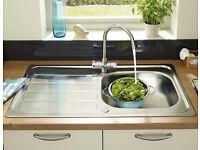 £20 Lamona Single Bowl Kitchen Sink: Boxed: Bargain