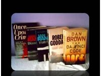 CRIME BOOKS - 5 TITLES - PAPERBACK - FOR SALE