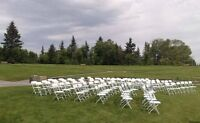 Outdoor Wedding Chairs-Calgary Party Rental