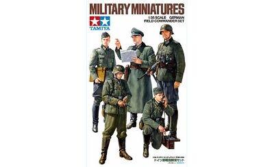 Tamiya 35298 - 1/35 WWII Figuras Set Alemán Oficiales/Comandante General -nuevo
