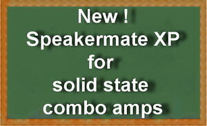 Speakermate XP for solid state combo amps now available-