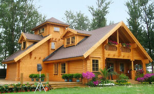 Fall Clearance  of NEW  Log Homes & Cabins