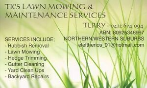 TKS DISCOUNTED  MOWING & MAINTENANCE Tullamarine Hume Area Preview