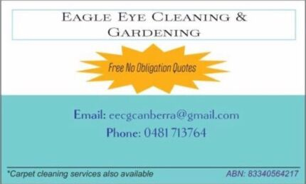 End of Lease Cleaning/Carpet Cleaning