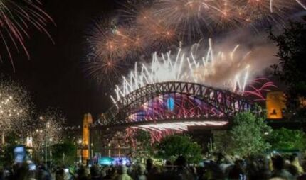 NYE Barangaroo firework tickets needed