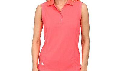 Adidas Mujer Climalite Essentials Polo (S) Rojo B83798