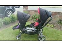 Obaby Zoom double Tandem Pushchair