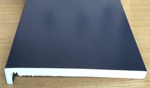Replacement PVC Fascia bargeboard 7016 Anthracite Grey, Irish & Golden Oak Caramel & Black Ash Grain