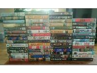 VHS BUNDLE MIX MOVIES