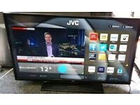 JVC 39 INCH LED SMART HD TV. Wi-Fi Netflix