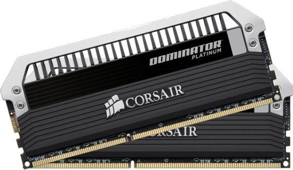Corsair Dominator Platinum 16GB 2X8GB Dual Channel DDR3 1600MHz PC3-12800 DIMM