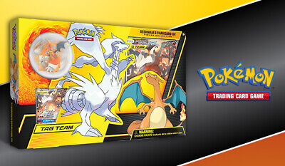 Pokemon TCG Reshiram & Charizard GX Box Figure Collection Unbroken Bonds PRESALE