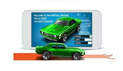 2020 Hot Wheels id Series 2 '69 Copo Camaro Factory Fresh 1/64 Scale GML22